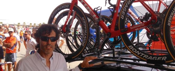 Frenos de disco en la Vuelta