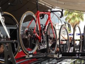 La bicicleta del Trek con frenos de disco