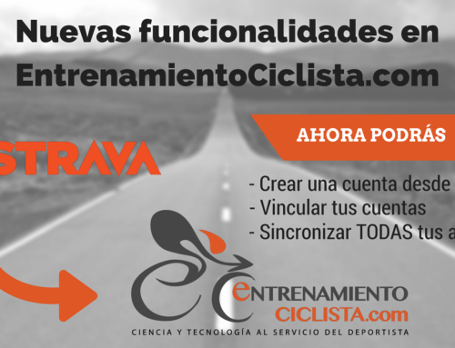 Sincroniza Entrenamiento Ciclista con Strava
