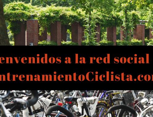 EntrenamientoCiclista.com ahora también red social del ciclismo